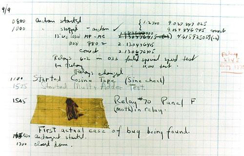 İlk bilgisayar Bug'ı