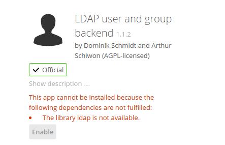 Nextcloud ldap authentication