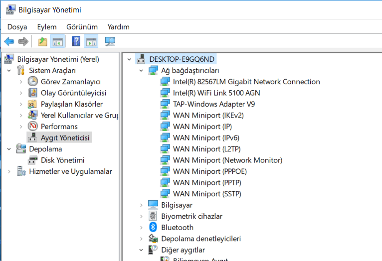 Windows 10 vpn A connection to the remote computer could not be established.  You might need to change the network settings for this connection hatası